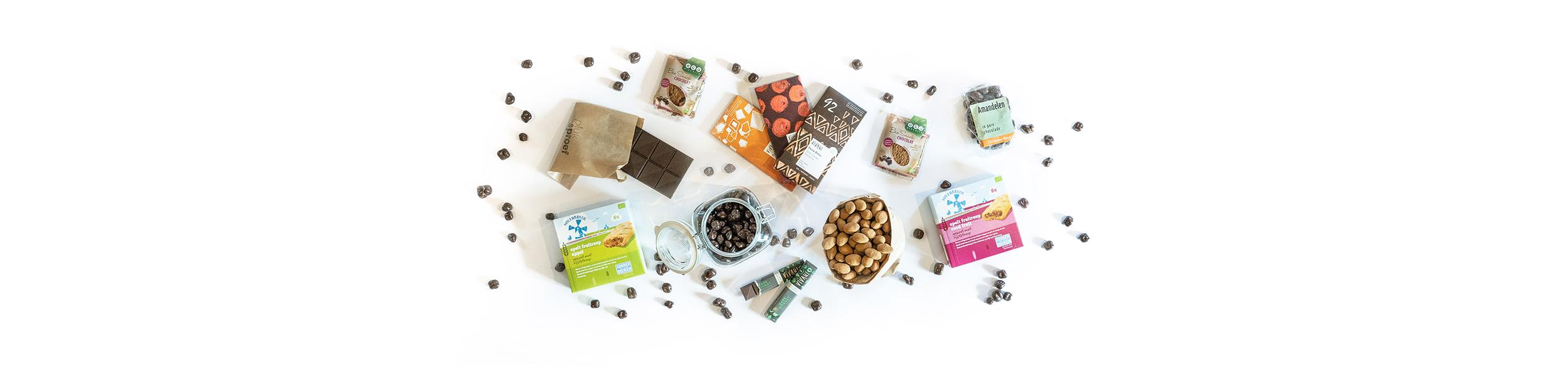 Chocolade, Snacks & Tussendoortjes